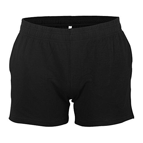 """Artículo: pantalones cortos de entrepierna de 3 """".  Material: 95% algodón de rizo suave y 5% spandex.  Feactures:  Longitud de los shorts: 11-12 pulgadas (o 28 cm -31 cm). Podría ser perfecto para el día de tu pierna en el gimnasio.  Estilo A sin bol..."""