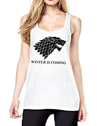Winter Is Coming Tanktop Girls White Certified Freak