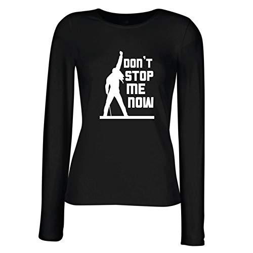lepni.me Camisetas de Manga Larga para Mujer Don't Stop me Now!...