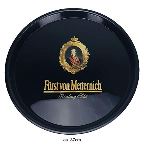 Fürst von Metternich Tablett Serviertablett Kellnertablett - ca. 37cm