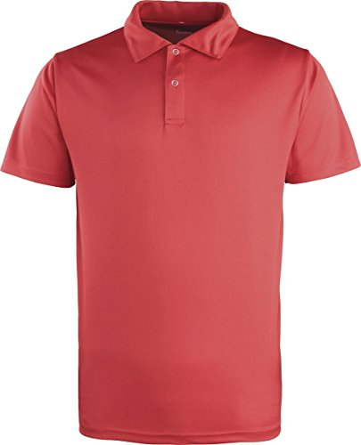 "Premier Coolchecker""¢ studded polo Rot"