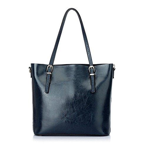 XY Fancy, Borsa a spalla donna rosso Rot, Grau (grigio) - RH#BB0918-1586-JPY97 blu reale