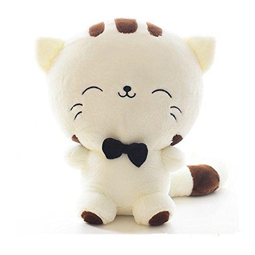 Theshy Juguete Peluche Animal SimulacióN Suave MuñEco Encantador Gatito Lindo Gato Kawaii (18cm, Blanco)