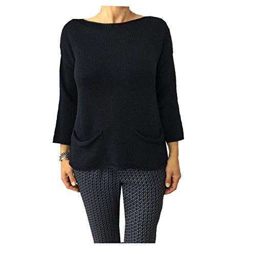 ALPHA STUDIO Damen T-Shirt blau blau 40