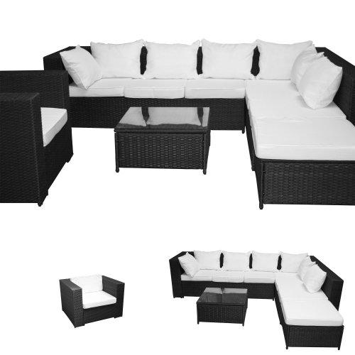 XINRO® 23tlg. Gartenmöbel Lounge Set günstig + 1x 1er Lounge Sessel ...