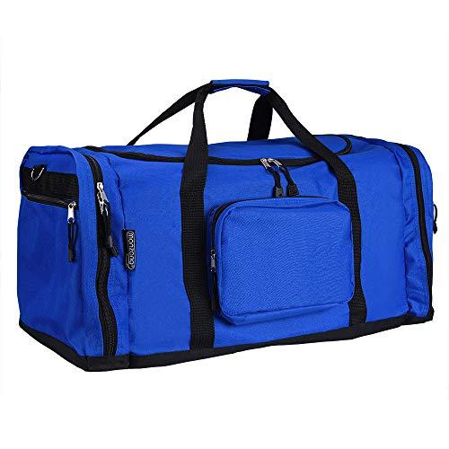 Monzana® Sporttasche - 70 cm - 95 Liter Stauraum - Reistetasche Reisekoffer Koffer Tasche blau