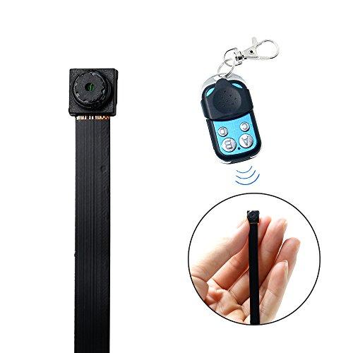 Cámara Espía, HD 1080P UYIKOO Mini Botón Cámara de seguridad ocultada del registrador de video con teledirigido de la detección de movimiento