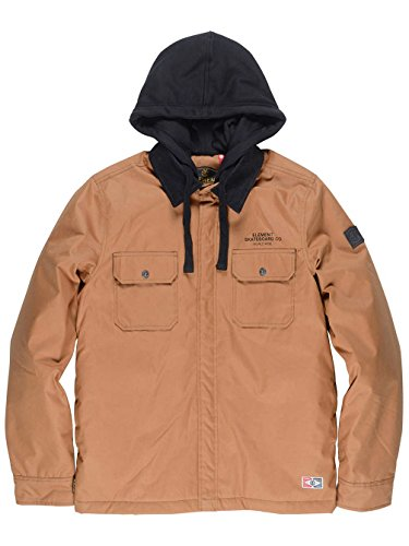 Element Wade Jacke bronco brown