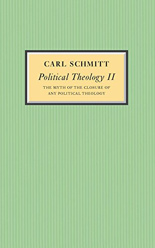 Political Theology II: The Myth of the Closure of any ...