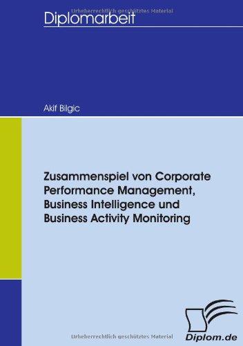 Zusammenspiel von Corporate Performance Management, Business Intelligence und Business Activity Monitoring