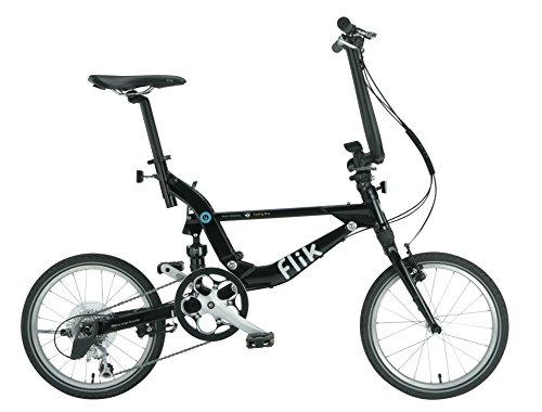Bicicleta Plegable Jango Flik de TOPEAK (negro)...