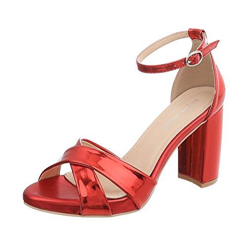 MaxMuxun Zapatos de Tacón Bajo Marrón Estilo Dulce de Boda y Fiesta para Mujer Tamaño 39 EU efz0H