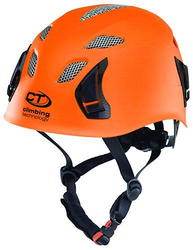 Climbing technology stark casco da arrampicata e cascata, arancione