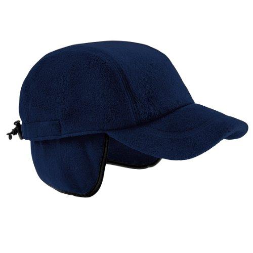 Beechfield - Casquette en polaire - Adulte unisexe (Taille unique) (Bleu marine)