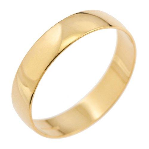 Alliance - Mixte - Or jaune (9 carats) 1.4 Gr - T 52