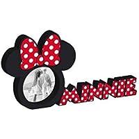 Marco de fotos de madera Disney Minnie Mouse para niños : 30x10x1,5cm - MID301725