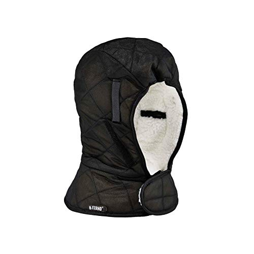 Price comparison product image N-Ferno 6952 Thermal Insulated Hard Hat / Helmet Winter Liner,  Black