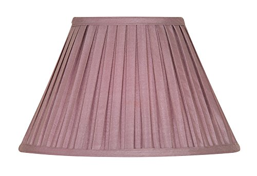 oaks-lighting-14-inch-imitation-mushroom-pleated-shade-grapes-purple