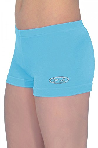 The Zone Z2000 Hipster Shorts aus glattem Samt, Kingfisher