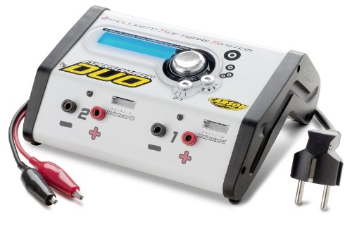 Carson 500606035 - Expert Charger Duo 12V/230V 10A (60 Hz, 15 Ampere)