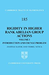 Rigidity in Higher Rank Abelian Group Actions: Volume 1, Introduction and Cocycle Problem (Cambridge Tracts in Mathematics)