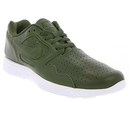 Nike Lunar Flow Lsr Prm, Chaussures de Running Entrainement Homme Marrón (Cargo Khaki / Cargo Khaki-White)