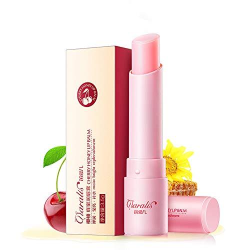 Beito 1pc Baume Hydratant Lissage De Couleur Changeante De Rouge À Lèvres De Couleur D'Aloe Vera Imperméable(Cherry,0.12oz)