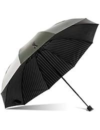 9844b3a64 LJBOZ Paradise Paraguas/Lluvia Plegable Paraguas de Doble Uso/Protector  Solar UV Paraguas/