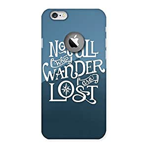 Neo World Wanderer Back Case Cover for iPhone 6 Logo Cut