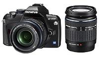 Olympus E-450 - Cámara réflex Digital 10 MP (Objetivo 14-42 mm y 40-150 mm), Color Negro