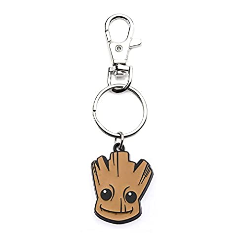 Marvel Guardians of the Galaxy Baby Groot Head Bag Tag Porte-Clés
