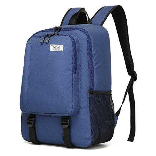 TOURIT Nevera, 25 litros, mochila de pícnic con aislamiento, de gran capacidad, mochila para acampada y senderismo, azul oscuro