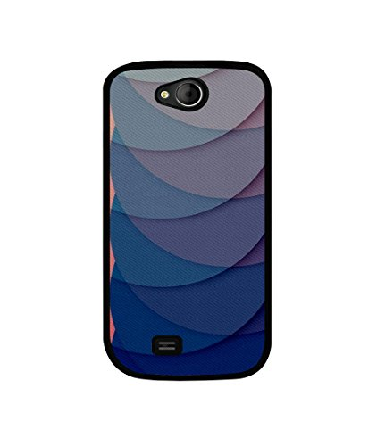 Casotec Waves Pattern Print Design Canvas Printed Soft TPU Back Case Cover for Micromax Canvas Elanza A93  available at amazon for Rs.349