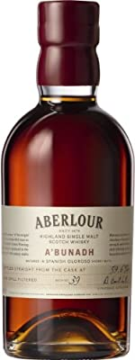 Aberlour A'Bunadh Cask Strength Matured in Olorosso Sherry Butts from The General Wine Company