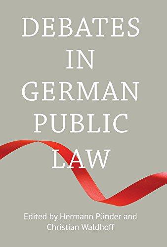 Debates in German Public Law (English Edition)
