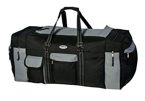 33fd633fa8cc8 Riesige Reisetasche XXL Sporttasche Tennistasche mit ca. 130 Litern Volumen  (Blau) Schwarz-