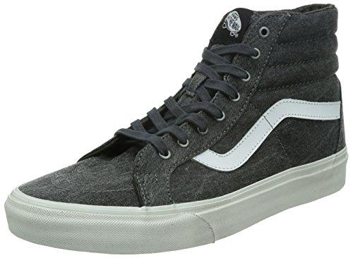 Vans Unisex-Erwachsene Sk8-Hi Reissue Sneaker (Overwashed) Schwarz/True Weiss