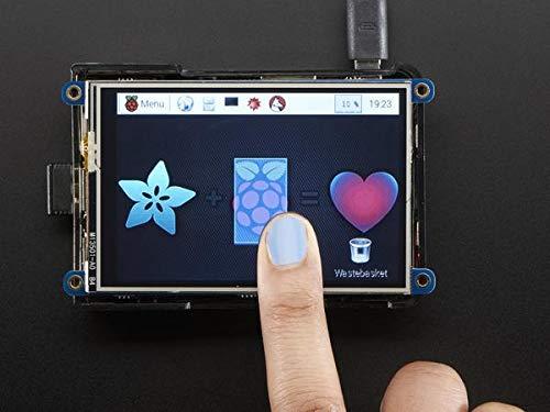 "Adafruit PiTFT Plus 480x320 3.5"" TFT+Touchscreen for Raspberry Pi Zero, Pi 3, Pi 2 or Model A+ / B+[2441]"