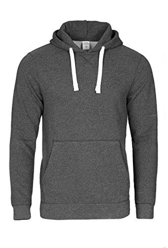 Casual Standard I Pullover Herren I Hoodie Männer I Jungen Kapuzenpullover I Men Sweater dunkelgrau M (Hollister Hoodie Für Jungen)
