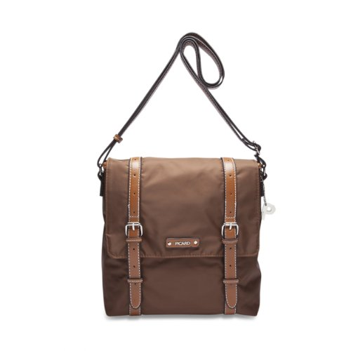 Picard Sonja 7829 Damen Messengerbags, 23x24x4 cm (B x H x T) marrón - Cognac