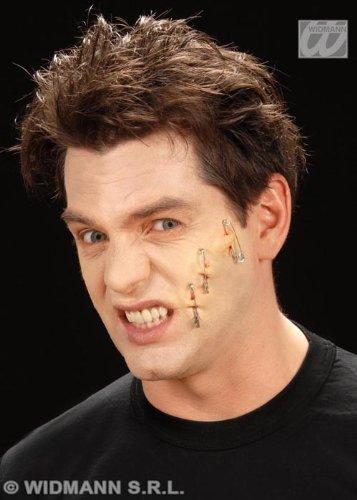 Palillo en cicatrices piercing falso heridas Pk3