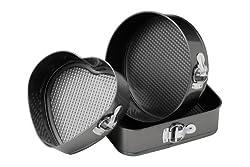 Premier Housewares Ecocook Bratpfanne, schwarzes Aluminium, weiße Keramikbeschichtung