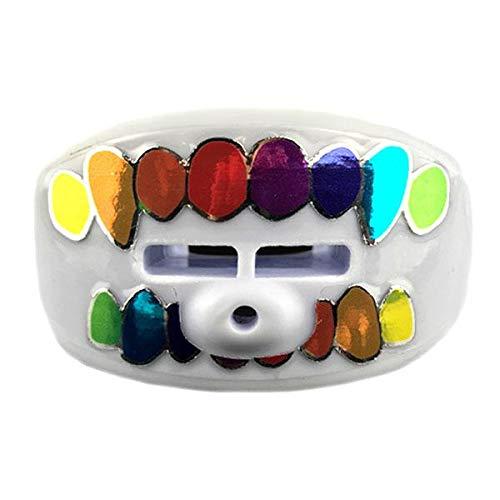 Damage Control Mundschutz Lip Guard Gummo Schnuller Mundstück, weiß, Einheitsgröße -