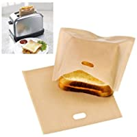 Reusable Toaster Bag Sandwich Bags Non Stick Bread Bag Toast Heating Food Bags
