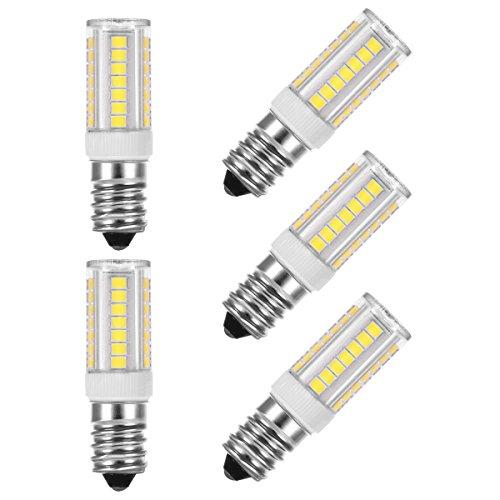 (5er Pack Kaltweiß?LOHAS® 5W E14 LED Lampe, Ersatzfür40WHalogenlampen , 400LM, Kaltweiß 6000K, 360°Strahlwinkel, 220V 230V 240V AC, LEDLampe, LED Birnen, LED Leuchtmittel
