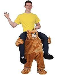 CUTE TEDDY BEAR CARRY ME MASCOT FANCY DRESS COSTUME