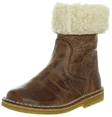 Pinocchio Girls 61541 Mid Brown Oiled Leather Boots Brown Braun (Mid Brown 26OL-0000) Size: 11