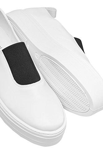 next Chaussures De Skate Nouées À La Cheville Standard Femme Blanc