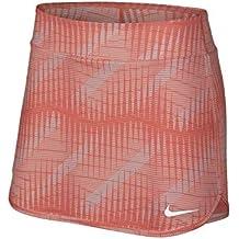 Nike Court Pure - Falda de Tenis para Mujer (Talla M), Color Naranja