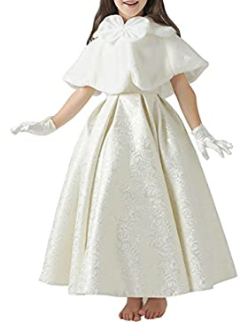 ARAUS Manto Capa Princesa para Vestido Ninas Fiesta Disfraz
